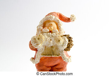 Statuette of Santa Claus