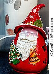 Santa Claus from ceramic