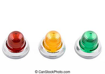 status, licht, indikator, macht