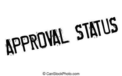 statut, approbation, rubberstamp