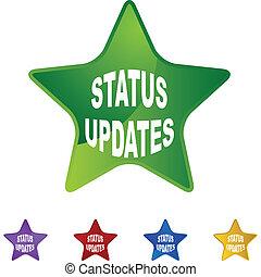 statut, updates