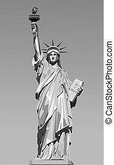 staty, frihet