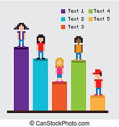 statystyka, rejestry adwokatów, pixel, projektować
