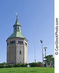 Stavanger Watchtower over the city