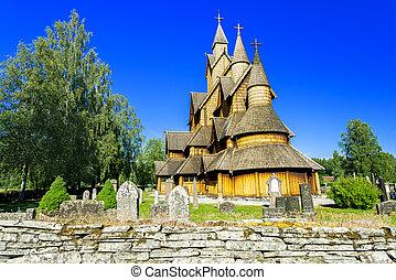 Stave Church at Heddal - Stave Church Heddal, Norway