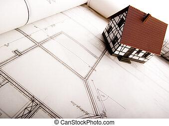 stavebnictví plánování
