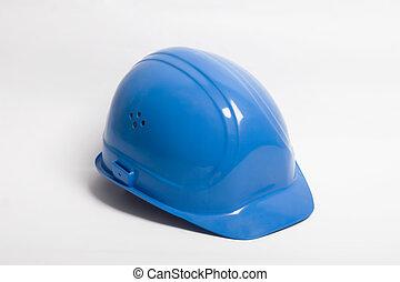 stavitel, krutý, -, hlavní, klobouk, náčiní