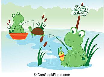 stawowa żaba