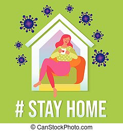 stay at home self isolation stop covid