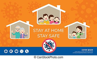 stay at home stay safe for family - stay at home stay safe, ...