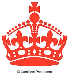 Stay Calm Crown - Crown as used in stay calm material over a...