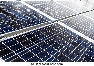 stazione, ecologia, energia solare