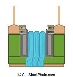 stazione, potere idroelettrico