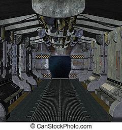 stazione, spazio