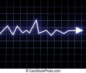 Steady arrow graph