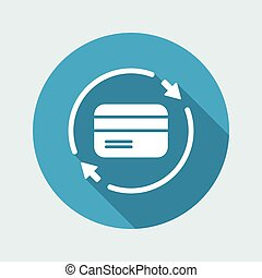 Steady banking services - Vector web icon