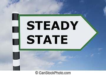 Steady State concept - Render illustration of Steady State...