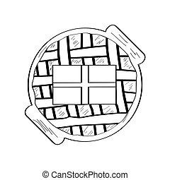 Pot pie Vector Clip Art Royalty Free. 514 Pot pie clipart ...