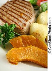 Steak And Vegetables 6