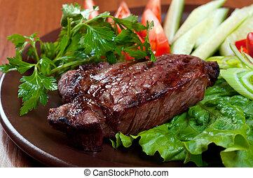 steak chorizo