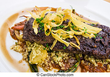 Steak Entree Plate