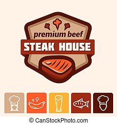 steak house logo