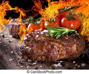 steak, köstlich , rindfleisch