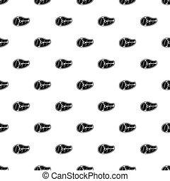 Steak pattern, simple style