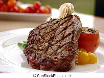 steak reforço, olho