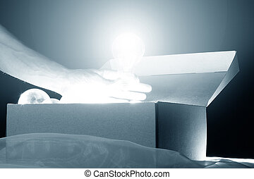 steal idea - hand steal ideas lamps from box