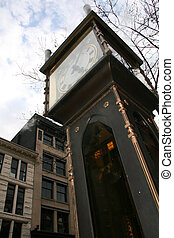 Steam Clock - Gastown, Vancouver, BC, Canada - Steam Clock -...