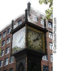 Steam Clock in Vancouver, Canada