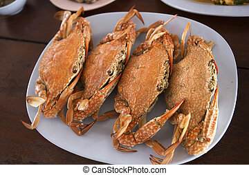 crab ,ready to eat