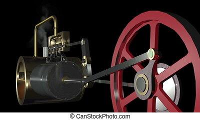 Steam Engine Animation HDSteam Engi