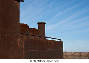 Steam Engine at the Humberstone