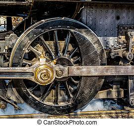 Steam Engine Drive Wheel