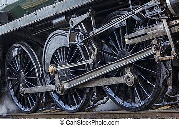 Steam Engine Wheels