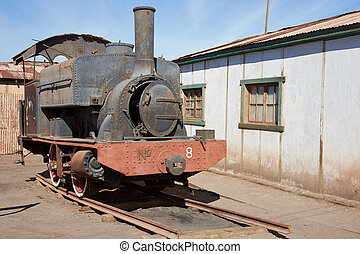 Steam Locomotive at the Humberstone