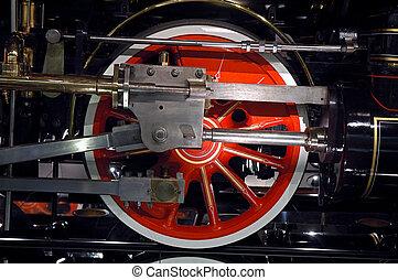 Steam Locomotive Driver Wheel