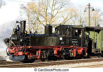 steam locomotive, Germany