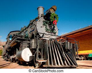 Steam Locomotive - Rio Grande Western 683 locomotive is...