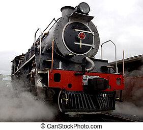 Steam Locomotive - A steam locomotive still in daily use in...
