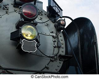 Steam Locomotive No. 844 of Union Pacific Railroad.