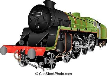 Steam Passenger Locomotive