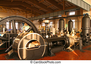 Steam powered pump