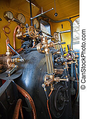 steam powered traction engine
