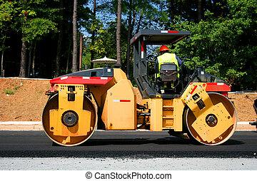 Steam Roller 2 - Heavy road construction equipment