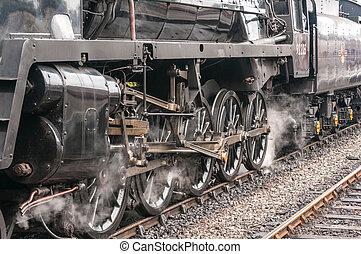 Steam Train Drive Wheels