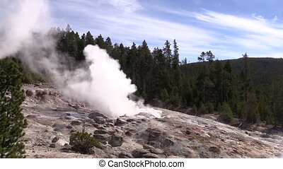 Steamboat Geyser, Yellowstone N.P.