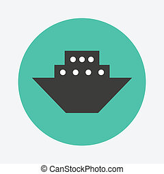 Steamboat icon